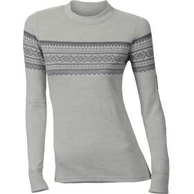 Aclima DesignWool Marius Crew Neck Shirt Women Gråfjell